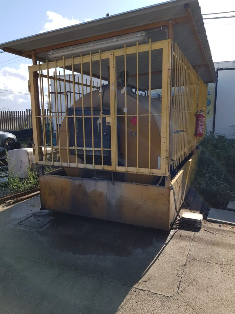 Cisterna Gasolio 9mc